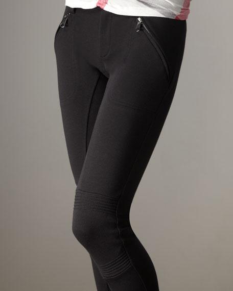 Zip-Cuff Leggings