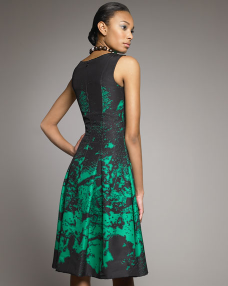 Printed Dance Dress