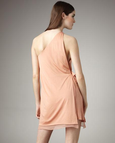 One-Shoulder Layered Dress