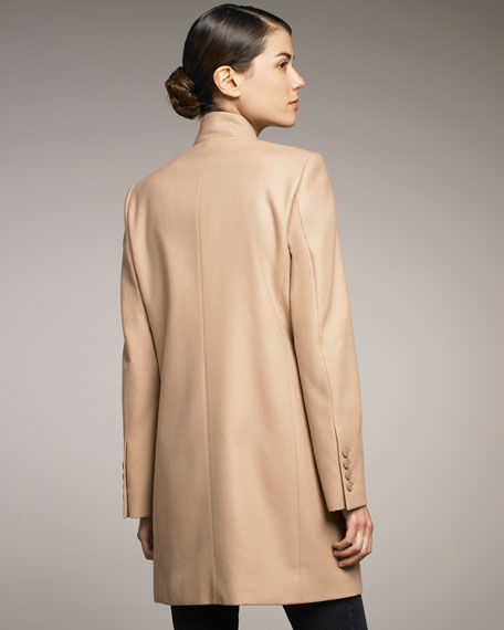 Long Stand-Collar Jacket
