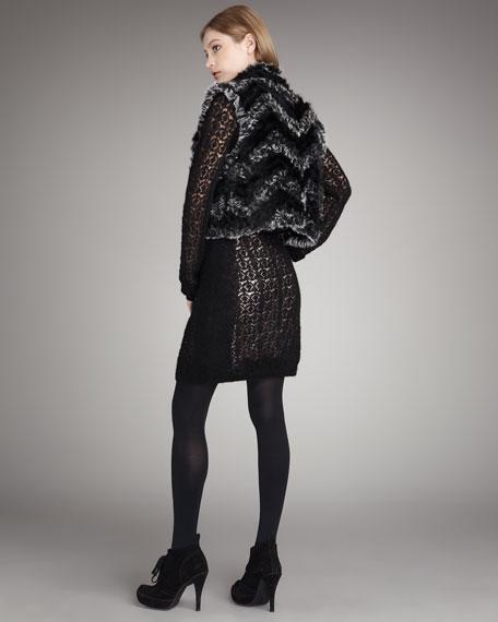 Hayworth Fur Vest
