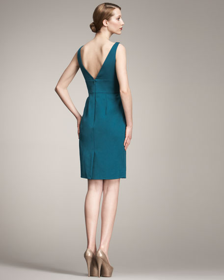 Fold-Detail Dress
