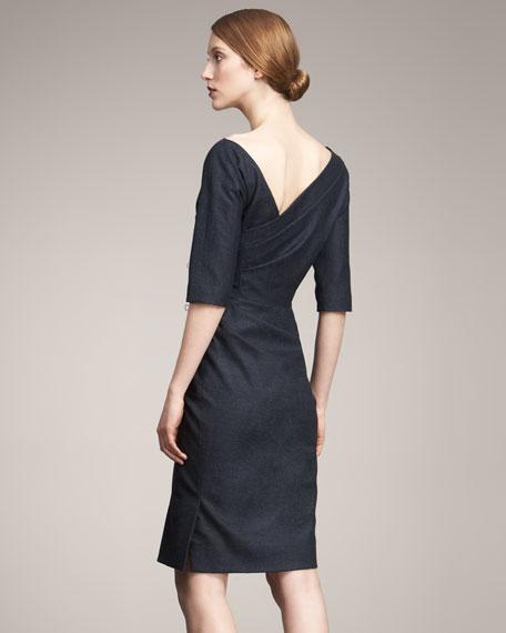 Side-Ruched Dress