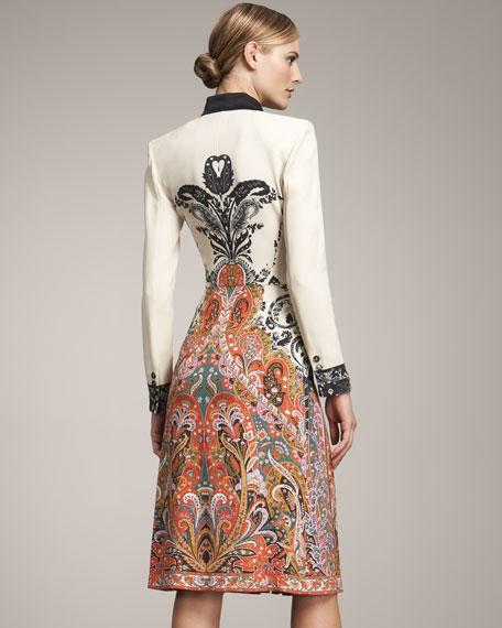 Long-Sleeve Coat Dress