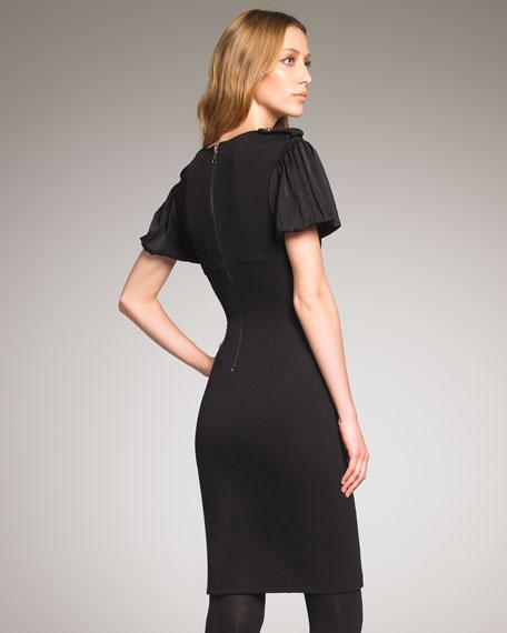 V-Neck Stretch Dress