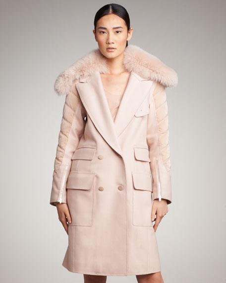 Removable-Fur Coat
