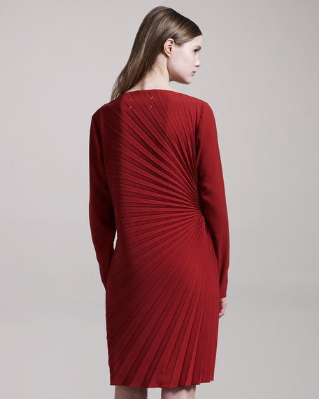 Soleil-Pleat Dress