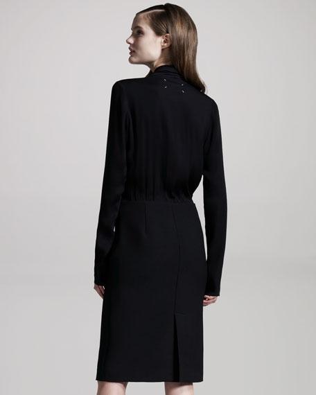 Trompe-l'Oeil Combination Dress