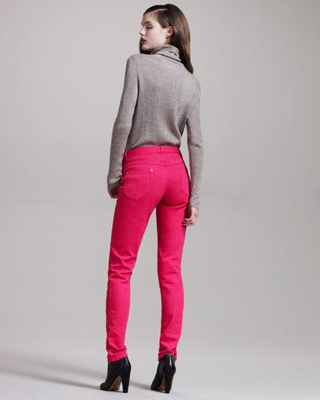 Skinny Fuchsia Jeans