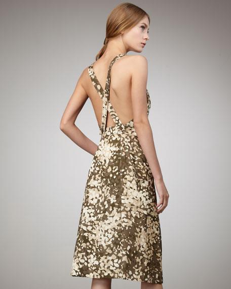 Emi Camo-Print Dress