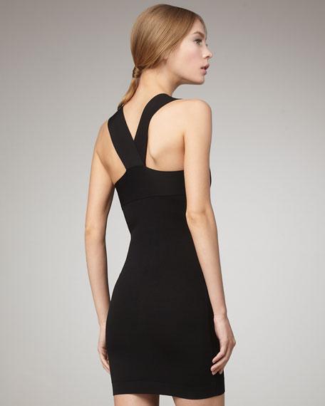 Crisscross Sheath Dress