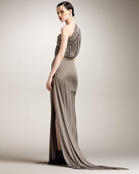 One-Shoulder Tunic Dress