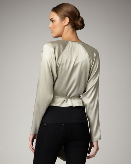 Sanded Silk Top