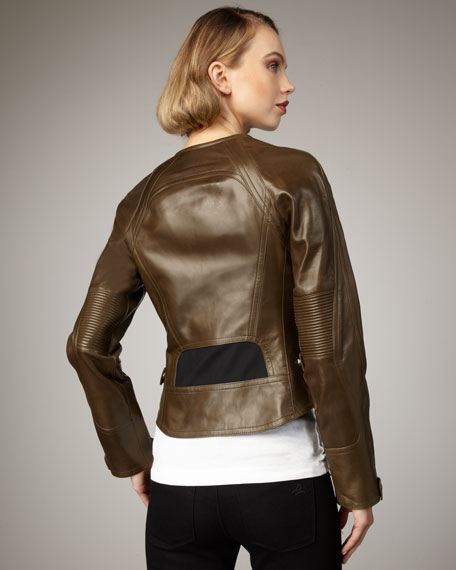 Plonge Leather Jacket