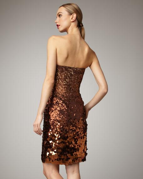 Degrade Sequin Dress