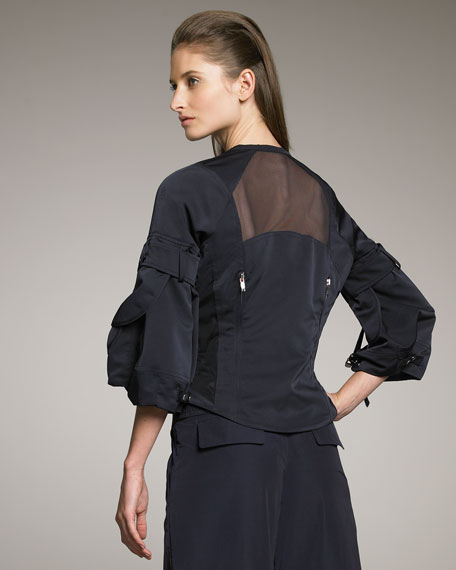 Tech Sheer-Back Jacket