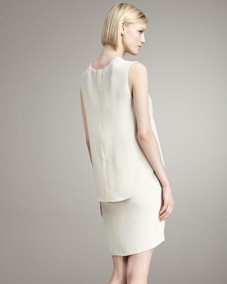 Shirttail-Panel Dress