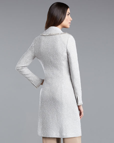 Glitterati Tweed Coat
