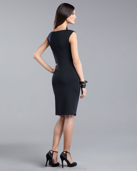 Cap-Sleeve Milano Dress