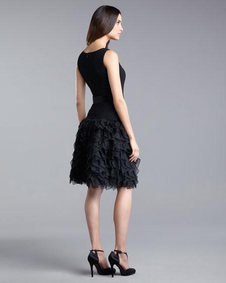 Origami-Skirt Dress
