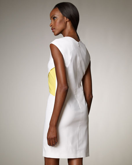 Geometric-Paneled Dress