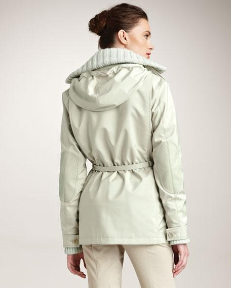 Tech-Fabric Coat