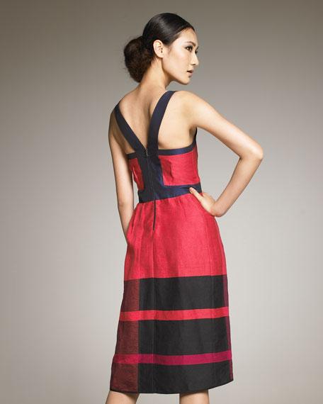 Swingy Contrast Dress