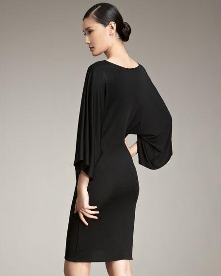 Ralph Lauren Black Label Sonia Kimono-Sleeve Dress
