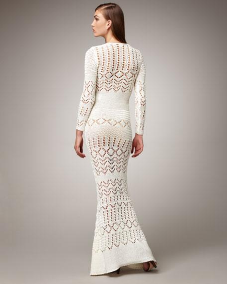 Crocheted Maxi Dress