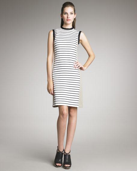 Striped Crewneck Dress