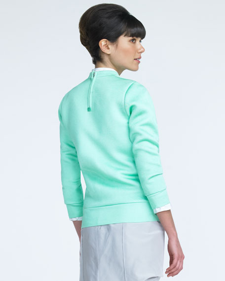 Ponte Knit Sweater