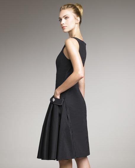 Silk Faille Dress