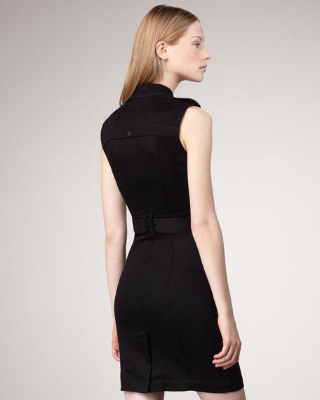 Sleeveless Zip Dress