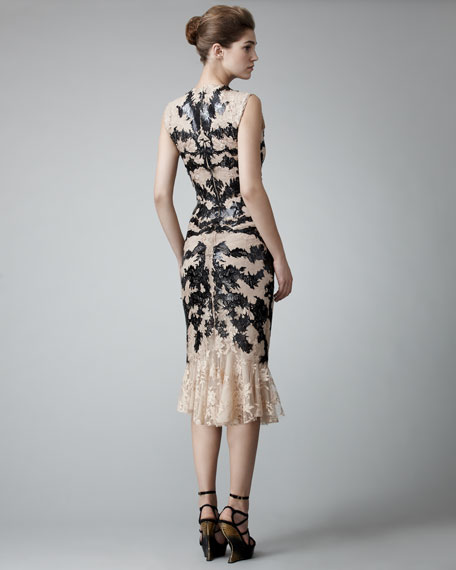 Leather & Lace Dress