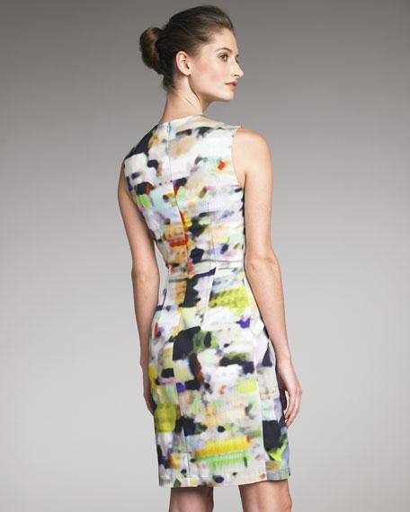 Abstract-Print Dress