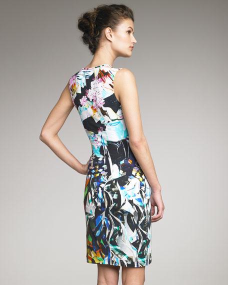 Printed Jersey Dress