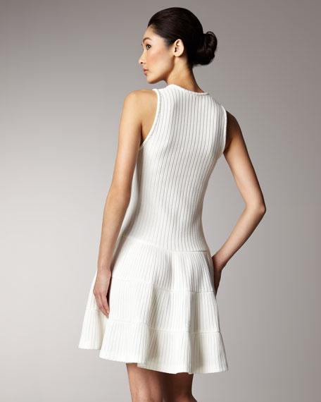 Summer Rib-Knit Dress