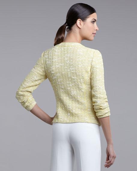 Lacy Tweed Short Jacket