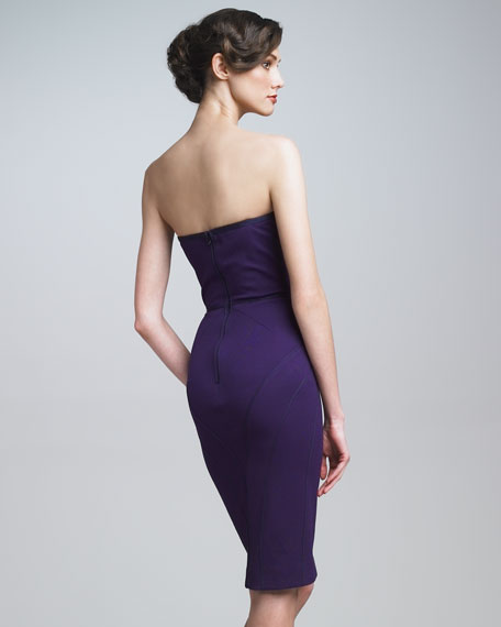 Strapless Sheath Dress