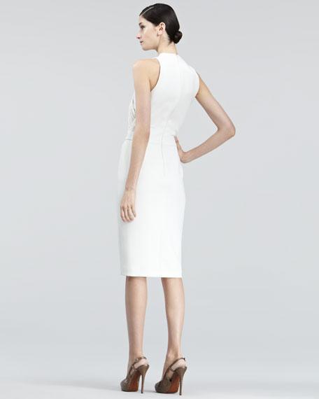 Jeanette Cross-Neck Dress