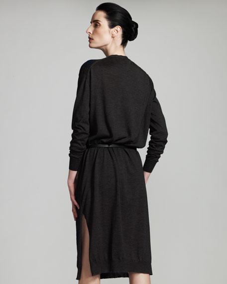 Rose-Knit Dress