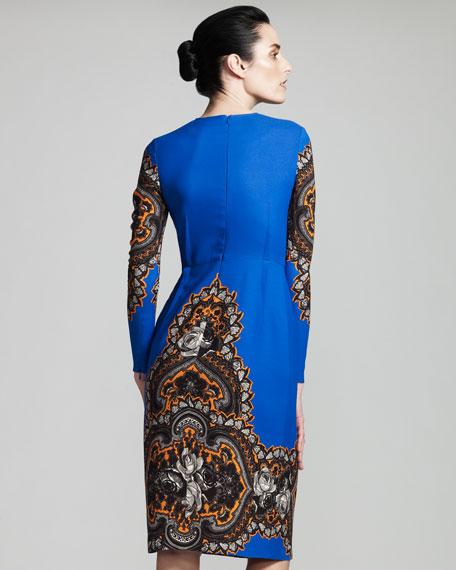 Floral Long-Sleeve Dress