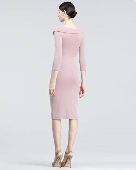 Crisscross Jersey Dress