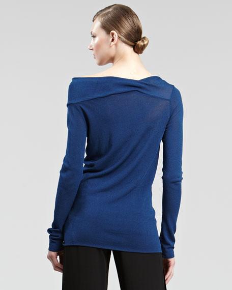 Asymmetric Knit Top