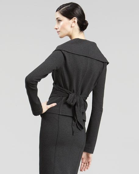 Off-The-Shoulder Jacket