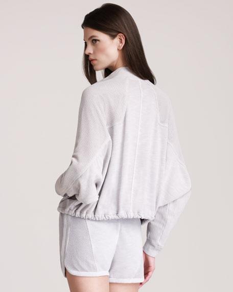 Mesh-Panel Shirt