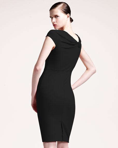 Off-the-Shoulder Bow Dress