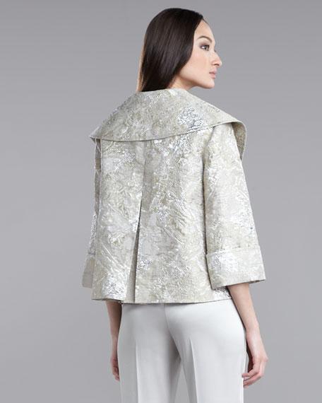 Metallic Brocade Jacket