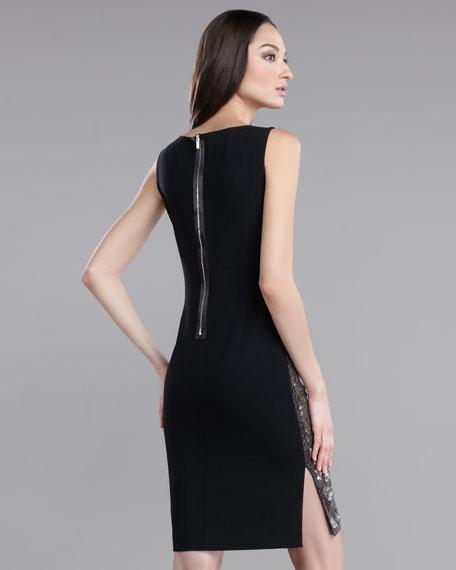 Leopard-Sequin Dress