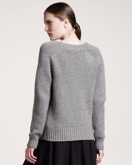 J-Intarsia Sweater